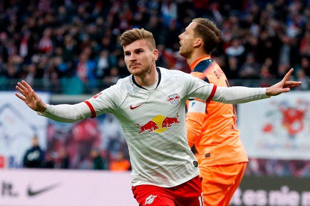 Liverpool tiene la intención de presentar Werner, tarifa de terminación de jugador de 60 millones de euros
