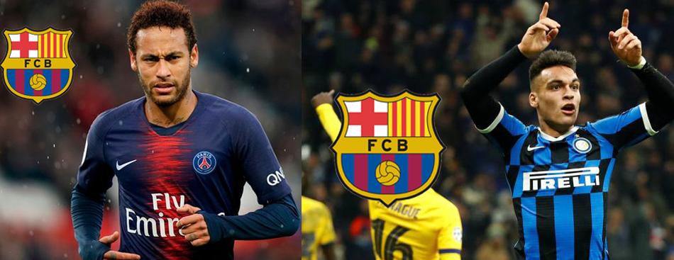 Neymar VS Lautaro, ¿quién tiene más probabilidades de ir a Barcelona?