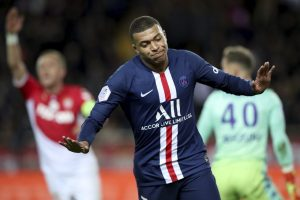 Paris Saint-Germain Mbappe